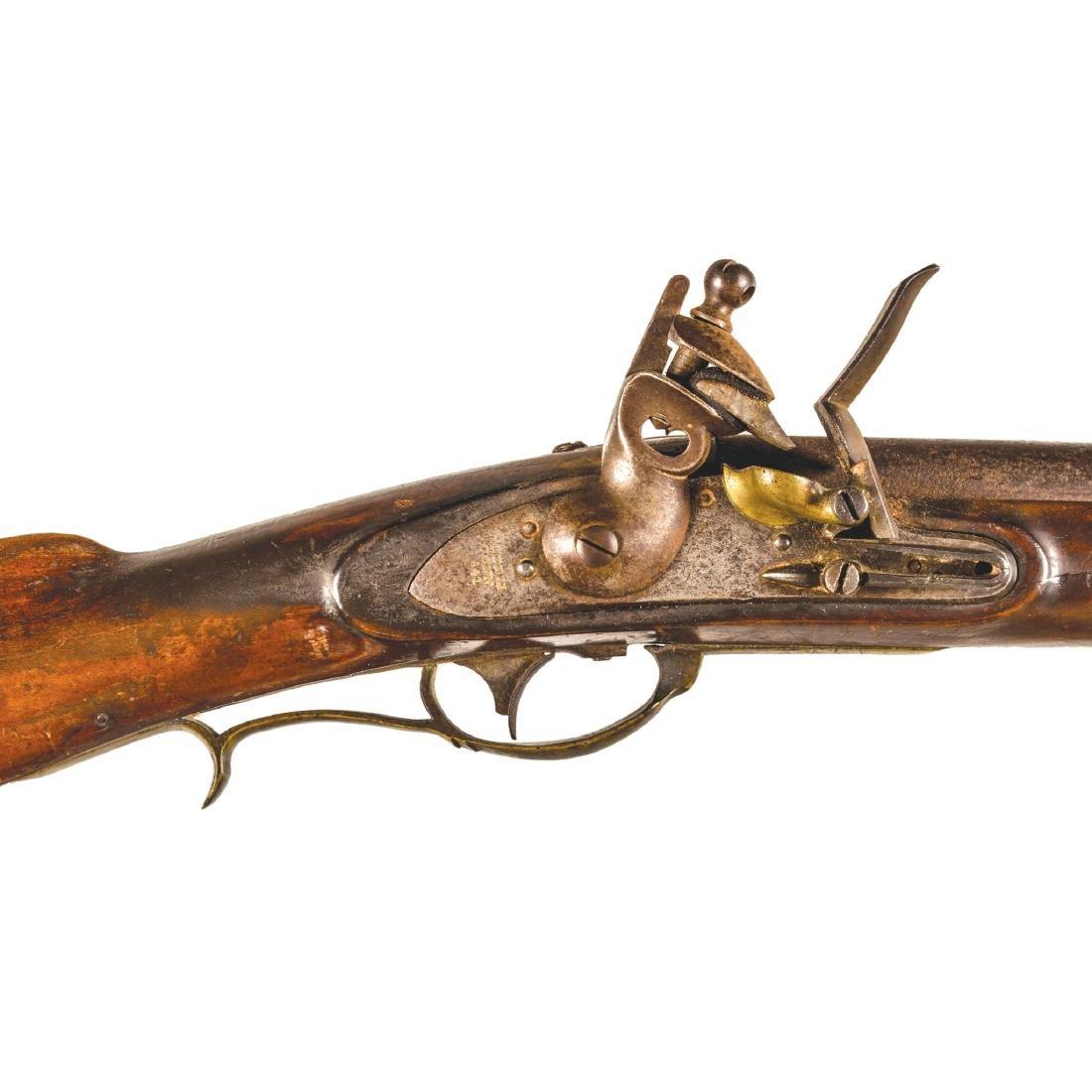 US Model 1817 Flintlock Rifle, Nathan Starr + Son - 3