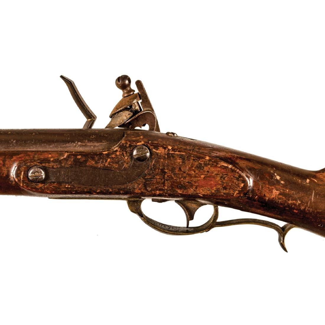 US Model 1817 Flintlock Rifle, Nathan Starr + Son - 5