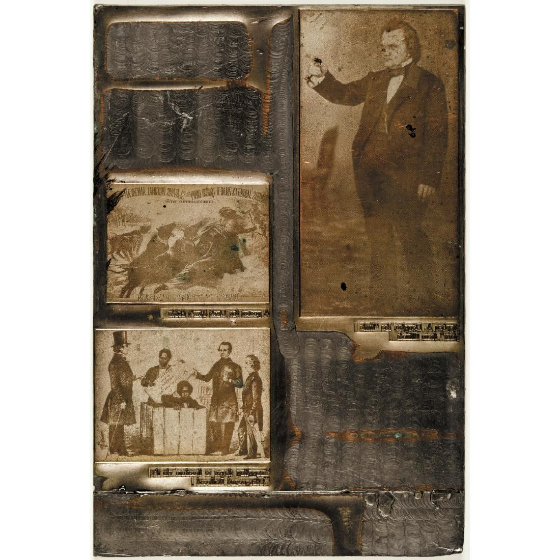 c.1860 Letterpress Illustration Printing Plate