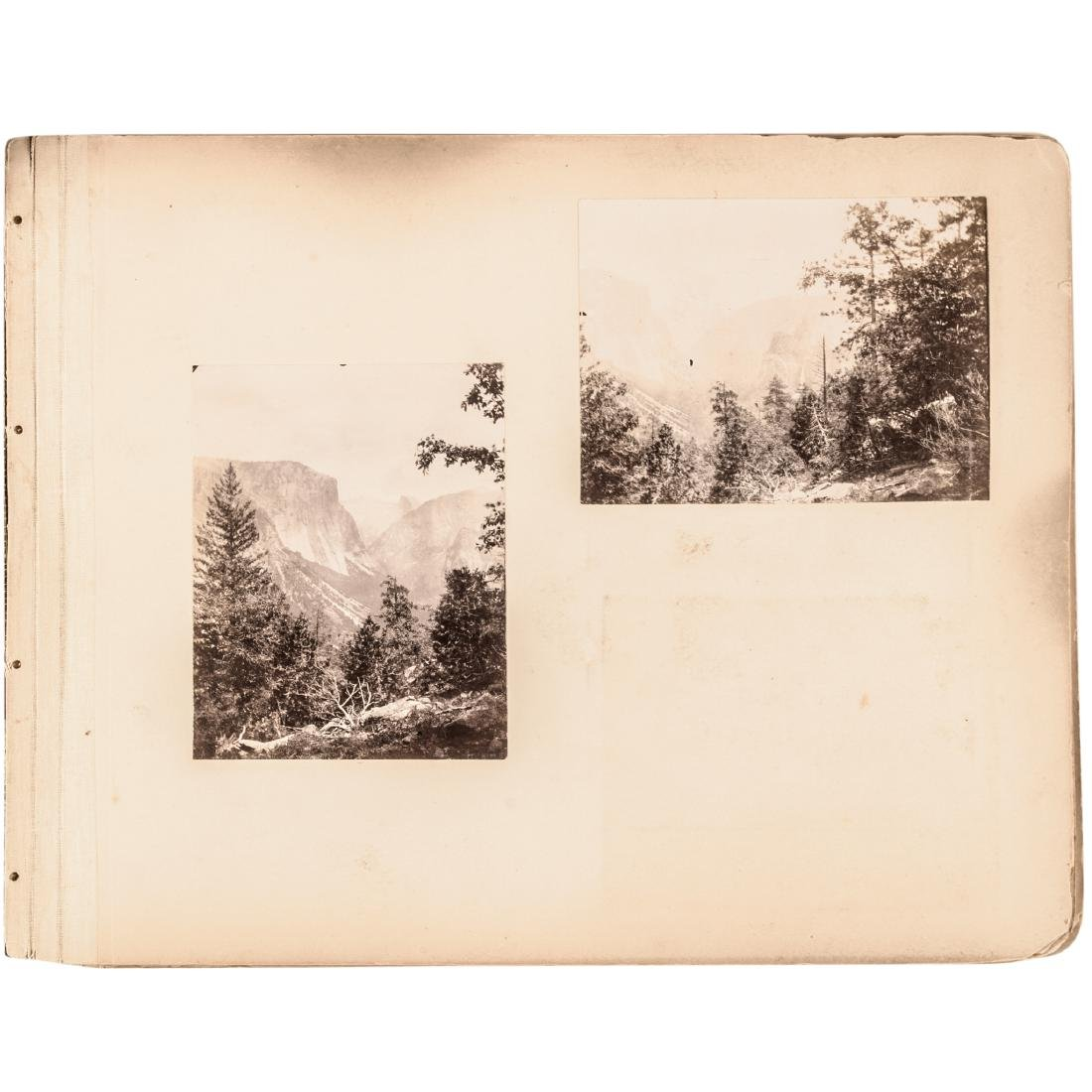 1882 Album 25 Historical Yosemite Calif. Photos - 2