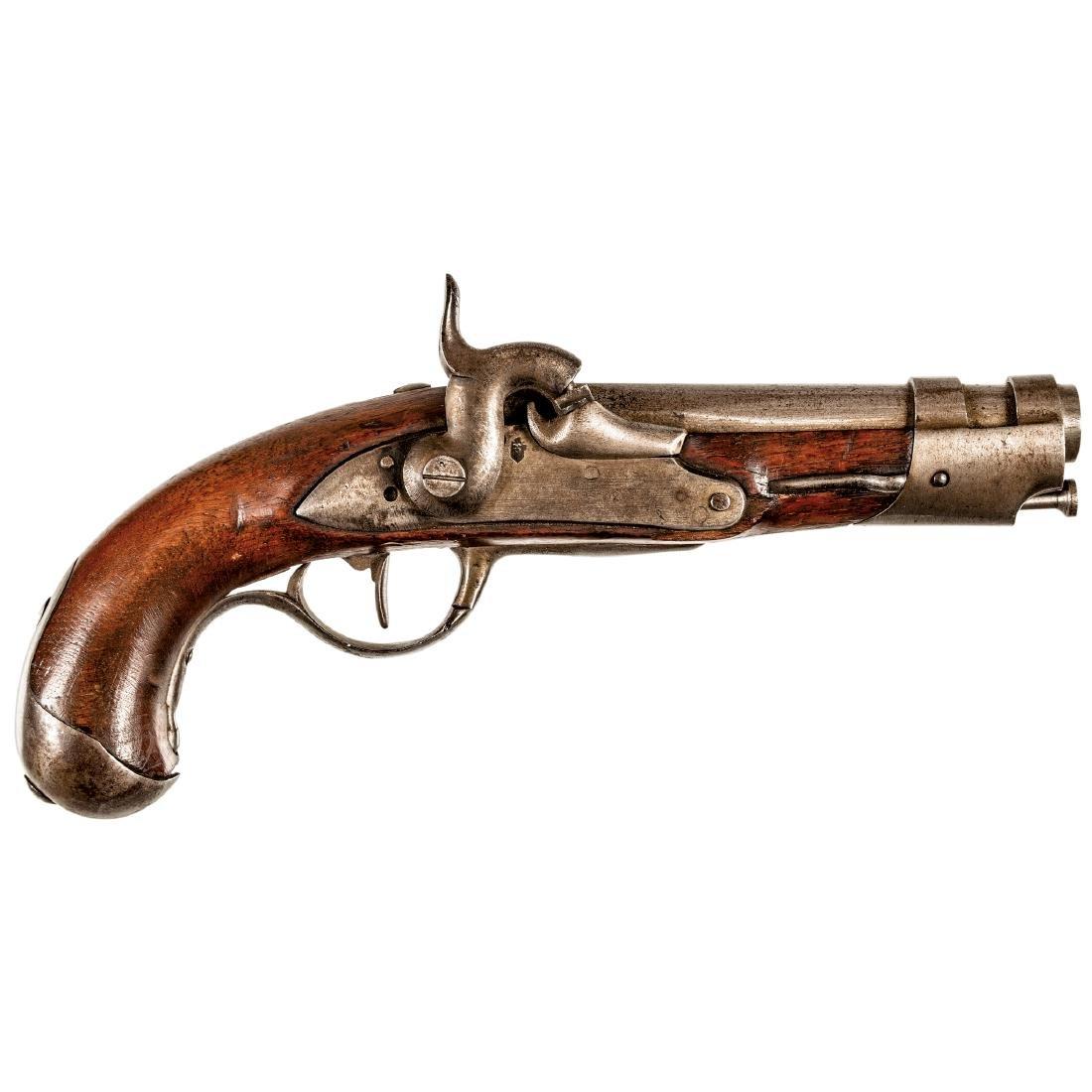 c 1802 French Military Flintlock Pistol Model AN9