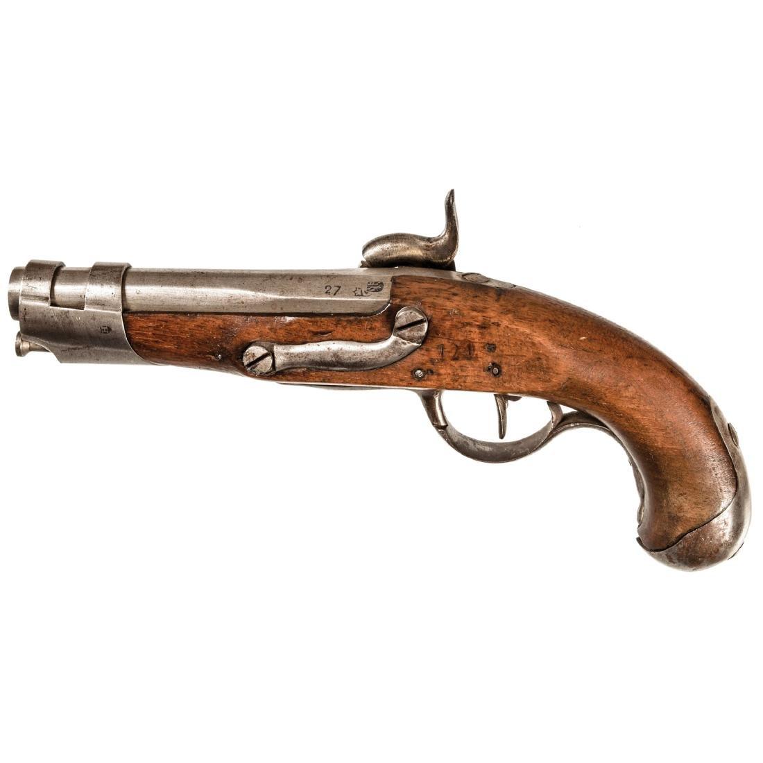 c 1802 French Military Flintlock Pistol Model AN9 - 2