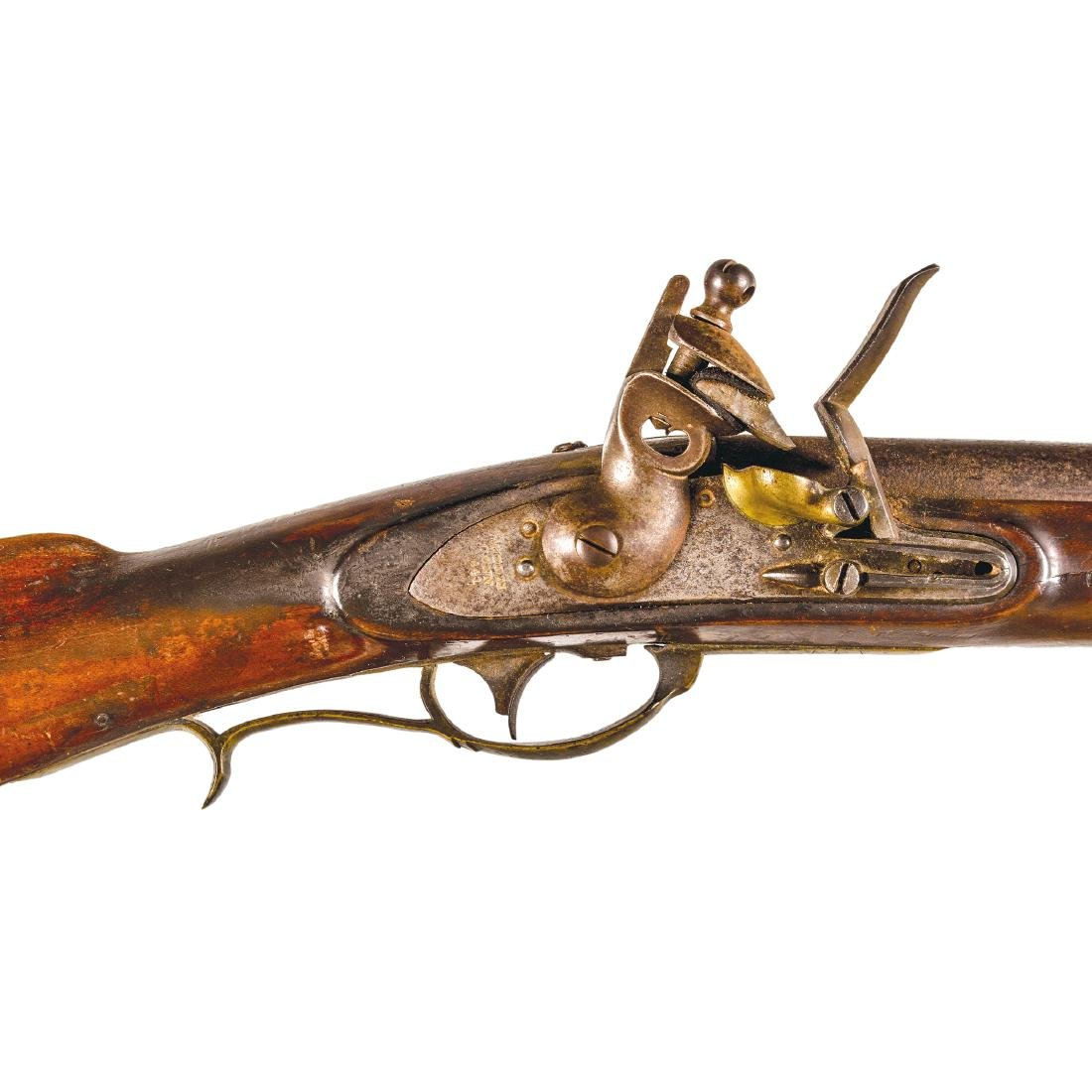 US Model 1817 Flintlock Rifle, Nathan Starr + Son - 3