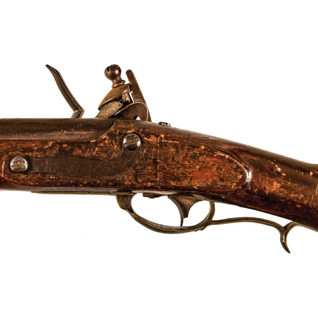 US Model 1817 Flintlock Rifle, Nathan Starr + Son - 4