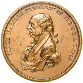 Post 1904 Jefferson + Madison Indian Peace Medals