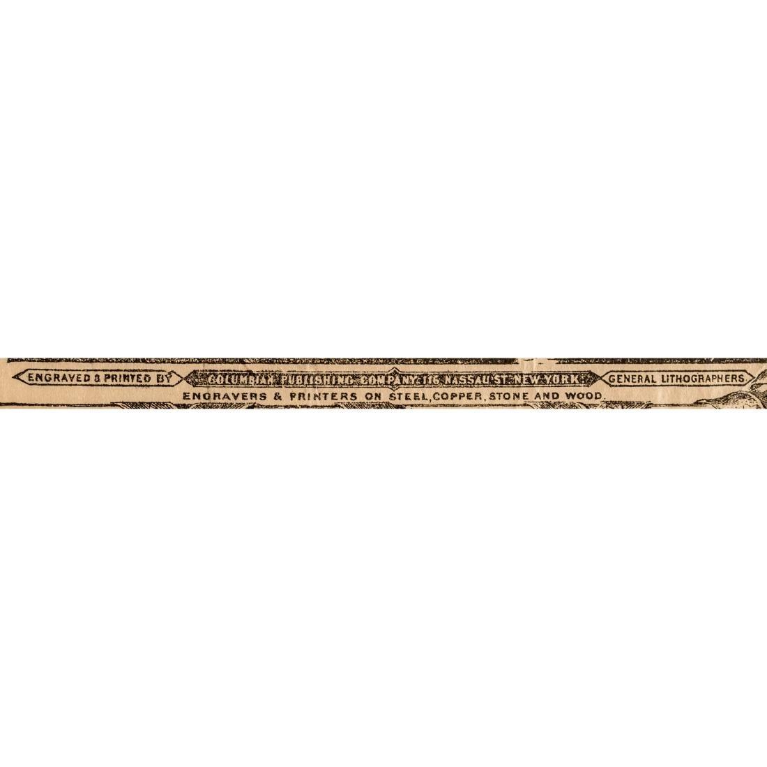 DECLARATION OF INDEPENDENCE 1876 Advt. Broadside - 4