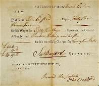 2006: 1777 JOHN BAYARD - Document Signed