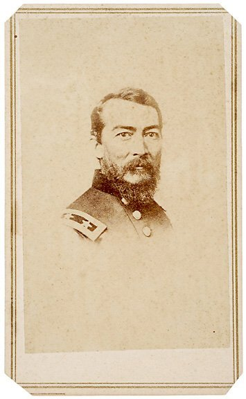 2418: Civil War CDV of General Sheridan