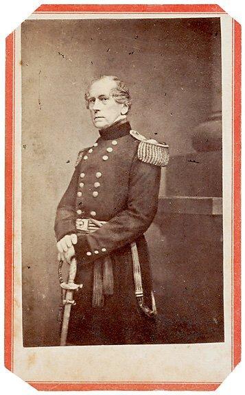 2425: Civil War CDV of General John Wool
