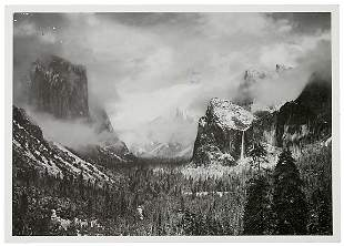 ANSEL ADAMS Typed Letter Signed, 1980