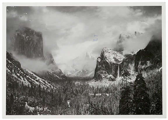 1: ANSEL ADAMS Typed Letter Signed, 1980