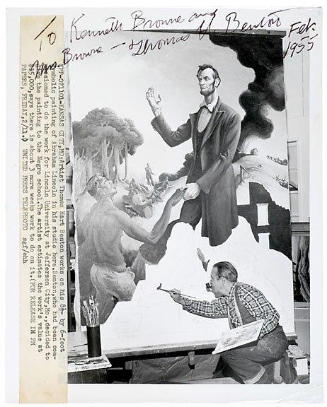 15: Thomas Hart Benton Signed Photo