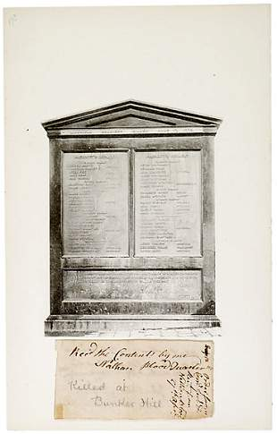 Bunker Hill Martyr Nathan Blood SIgned, 1775