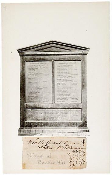 21: Bunker Hill Martyr Nathan Blood SIgned, 1775