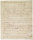 79: Signed Letter to John Hancock by Aaron Dexter