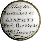 394: c.1775 Rare Anti-Slavery Battersea Box