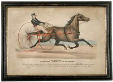 431 1871 Currier  Ives Handcolored Print