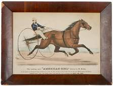432 1871 Currier  Ives Handcolored Print