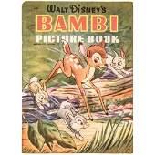 Vintage 1942 Walt Disneys Bambi Picture Book