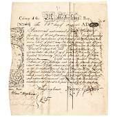 1775 PAUL REVERE Engraved KING PHILIP, MA-1 Bond