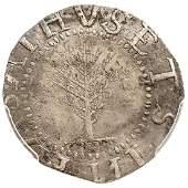 1652 MA. Pine Tree Shilling Large Planchet Noe-2