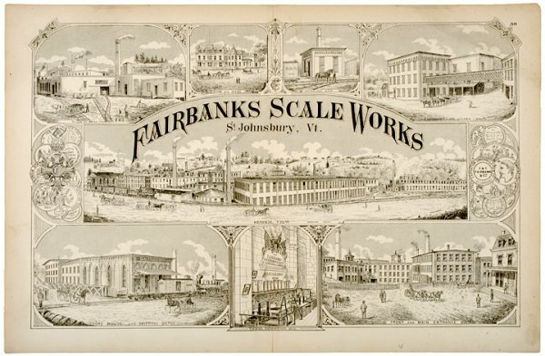 2011: c. 1876, Engraved Print, Fairbanks Scale Works
