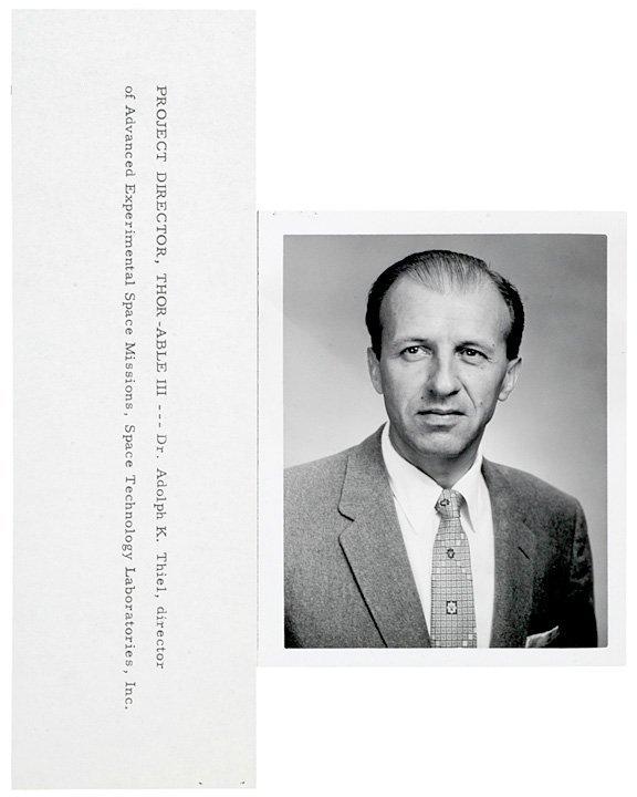 3007: ASTRONAUT 1959 Explorer VI Satellite Program