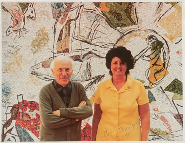 3018: MARC CHAGALL, Signed Photograph