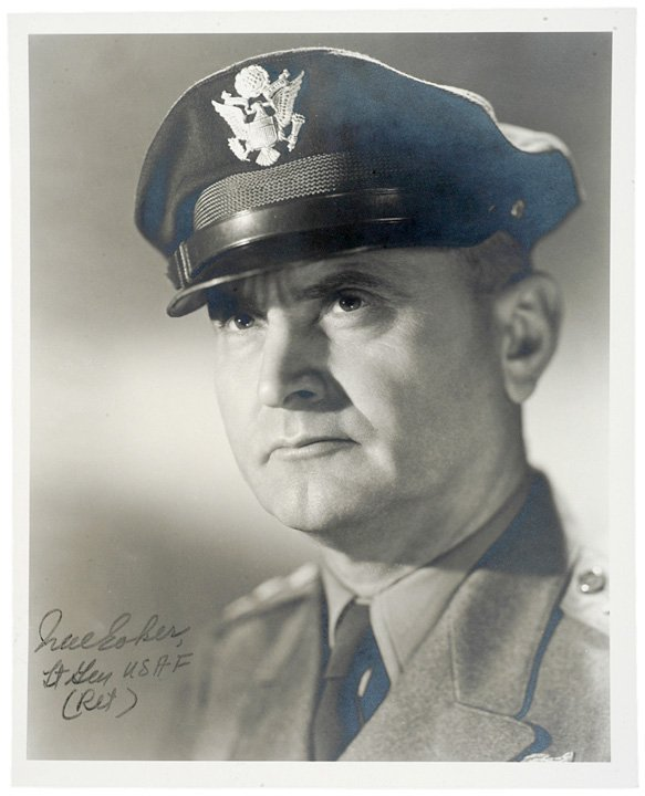24: Photo Signed General IRA C. EAKER