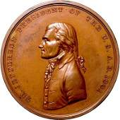 857: 1801, Thomas Jefferson Indian Peace Medal