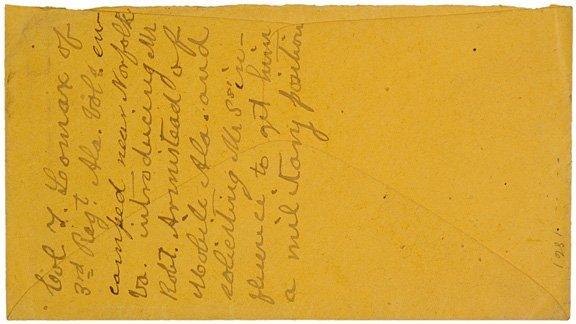 4008: ALEXANDER H. STEPHENS Archive Civil War Covers