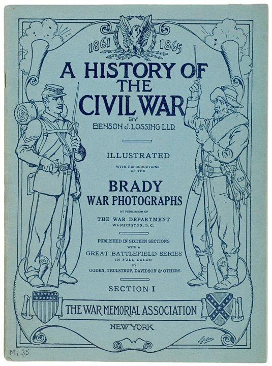 4012: 16 Vol. Civil War History Matthew Brady Photos