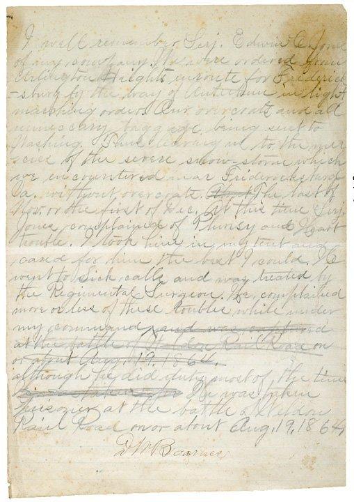 4024: Statement Regarding the Capture of Sergeant, 1864
