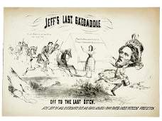 4062 Civil War CaricatureCapture of Jeff Davis