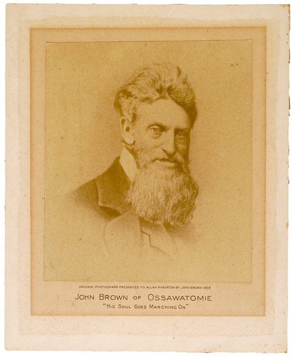 4141: Photograph of Famed Abolitionist John Brown