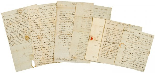 5012: 1790s WILLIAM SHEPARD Related Letter