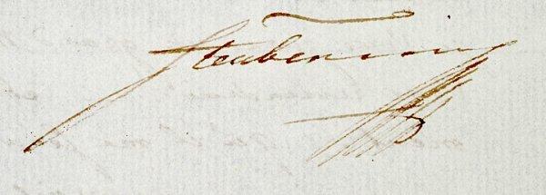 5017: BARON FRIEDRICH VON STEUBEN, Autograph Letter - 3