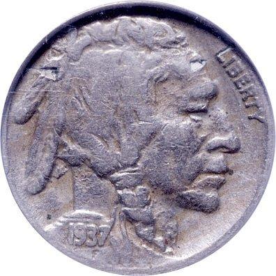 5210: 1937-D Buffalo Nickel, Three Legs, NCS Very Fine