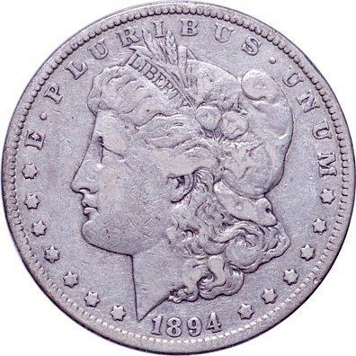 5211: Key Collector Date 1894 Morgan Silver Dollar