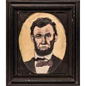 20th century President Abraham Lincoln Painting