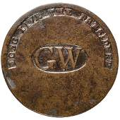 (1789) George Washington Inaugural Button WI-11A