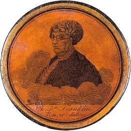 1790 Dated BENJAMIN FRANKLIN Memorial Snuffbox