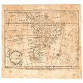 1793 AMOS DOLITTLE Engraved Map of South America