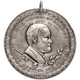 1871 Silver Ulysses S. Grant Indian Peace Medal