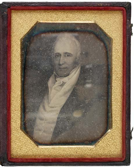 3011: (WILLAM CLARK), c. 1850, Daguerrotype Portrait