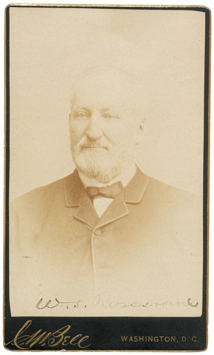 3023: General WILLIAM S. ROSECRANS Signed CDV