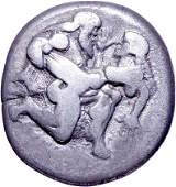 3295 Thasos Islands off Thrace Silver Stater