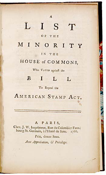 4012: Parliament Members Repeal the American Stamp Act