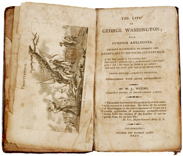 4024: 1810 The Life of George Washington by Weems