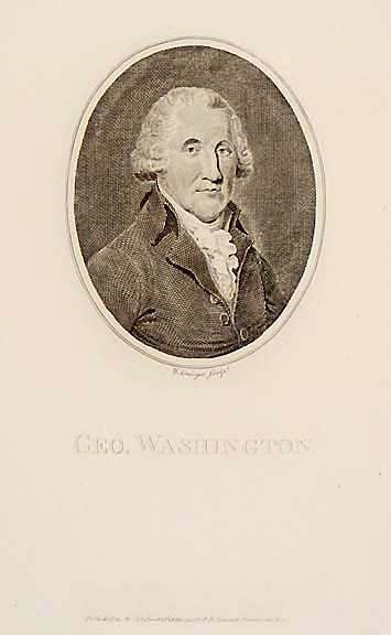 5009: GEORGE WASHINGTON, W. Grainger Engraving, 1794